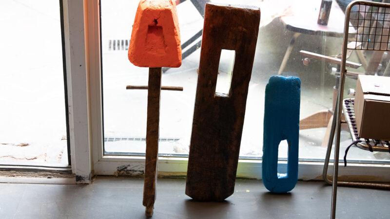 Zu Besuch im Atelier des Künstlers Markus Friedrich Staab.