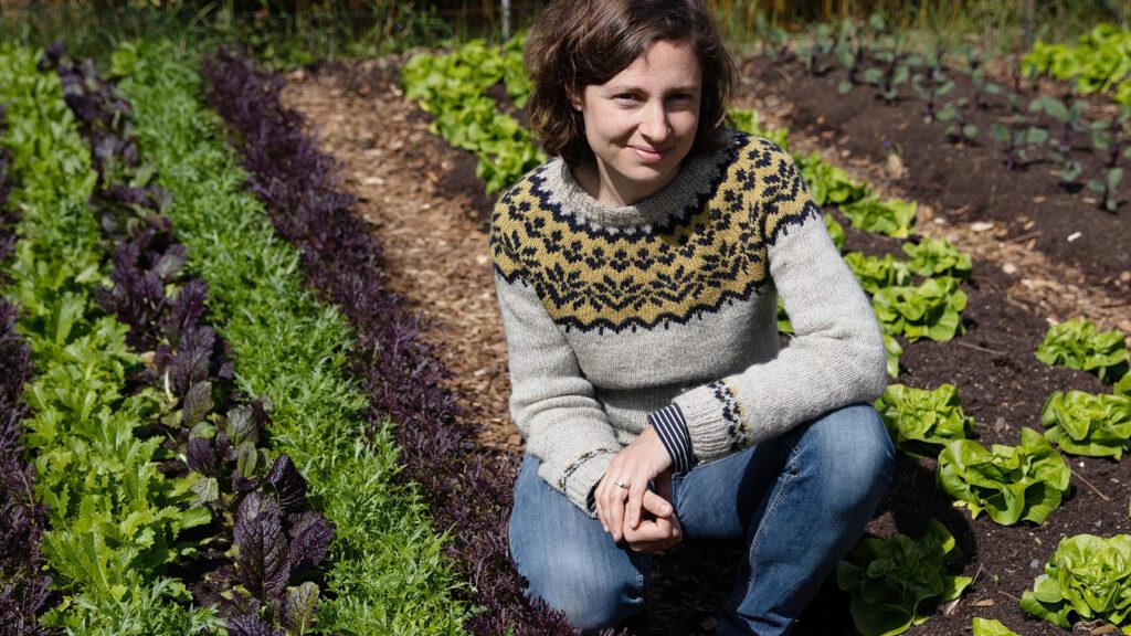 Juliane, Mitgründerin der GemüseheldInnen FRankfurt